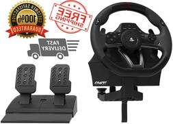 Racing Simulator Steering Wheel Ps3 Ps4 Pc Driving Pedals So