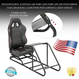 racing simulator steering wheel stand for logitech