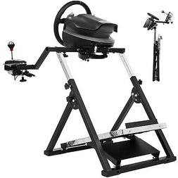 """X"" Frame Racing Simulator Steering Wheel Stand For Logitech"