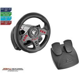 Racing Steering Wheel PC PS4 Slim / Pro PS3 Xbox One S Unive