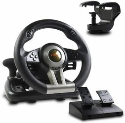 Racing Steering Wheel Shifter Pedal Set PlayStation 4 PS4 Pr