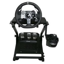 Racing Steering Wheel Stand Set Xbox One Pc Logitech Adjusta