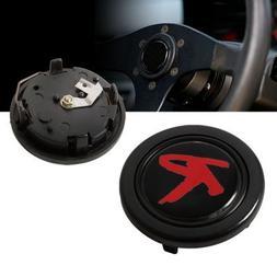"Racing Type ""R"" Steering Wheel Horn Button"