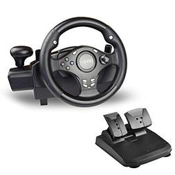 DOYO 270 Degree Rotation Pro Sport Racing Wheel for Multi Pl