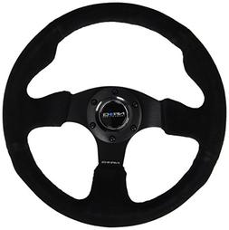NRG Innovations RST-012S 320mm Race Style Suede  Steering W