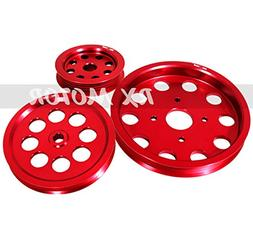 Rxmotor Nissan Skyline Pulley Kit Rb20 Rb25 Rb26 Power Steer