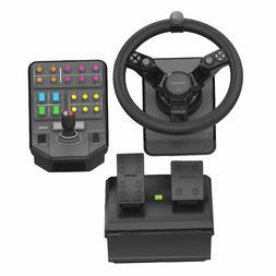 Logitech G Saitek Farm Sim Controller PC Game Farming Euro T