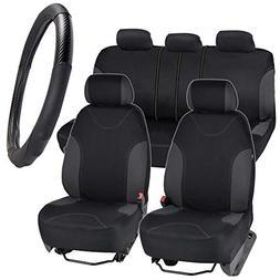 BDK Seat Saver Series Plus - Car Seat Covers for Automotive