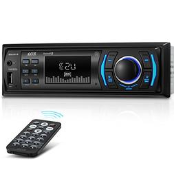 Boss Single Din Mechless Receiver Bluetooth USB Front Aux