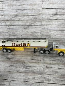 Hot Wheels Steering Rigs. Shell Tanker Trailer with Steering