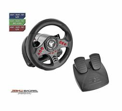 Steering Wheel And Pedal Set Racing Gaming PC Xbox One PS 4