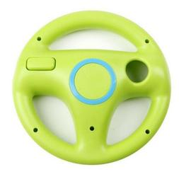 Steering Wheel Controller Blue For Nintendo Wii Game Console