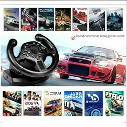Steering Wheel Controller Joystick Gamepad Gaming Racing PC
