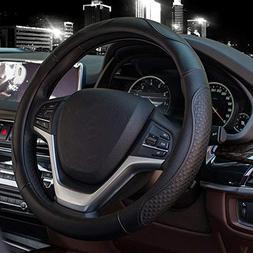 Valleycomfy Steering Wheel Covers Universal 15 inch - Genuin