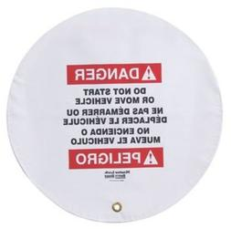 Master Lock Steering Wheel Warning Cover for Lockout/Tagout,