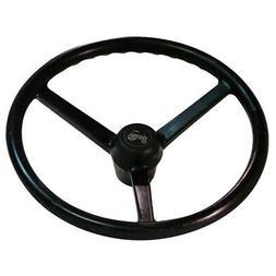 "Steering Wheel With Round Cap 14 1/4"" Dia 7/8"" 36 Spline"