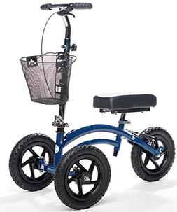 All Terrain KneeRover Steerable Knee Scooter Knee Walker Hea