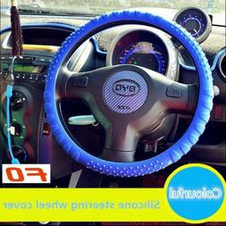 Thin Waterproof Silicone Steering Wheel Cover