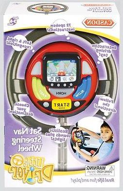 Casdon Toys - Sat Nav Steering Wheel - Roleplay Toy