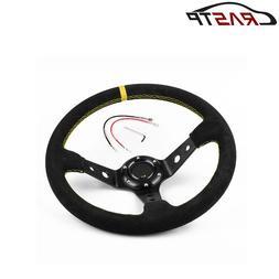 RASTP-Universal 14 inches 350mm Car Sport <font><b>Steering<