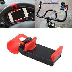 Universal Bike Car Steering Wheel Clip Mount Cradle Holder f