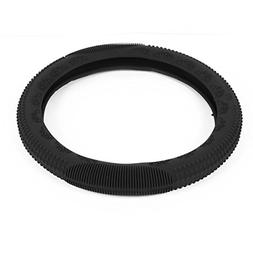 """uxcell Universal Black Silicone Steering Wheel Cover 13""""-18"""""""