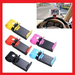 Universal CAR Steering Wheel & Air Vent MOUNT HOLSTER CLIP C