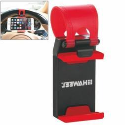 HAWEEL Universal Car Steering Wheel Phone Mount Holder For i