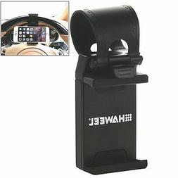 HAWEEL Universal Car Steering Wheel Phone Mount Holder For W