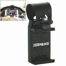 HAWEEL Universal Car Steering Wheel Phone Mount Holder For i