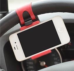 JessicaAlba Universal Cell Phone Car Mount Holder on Steerin