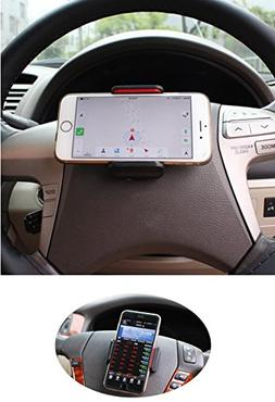 Calmpal Universal Cell Phone Car Mount Holder on Steering Wh