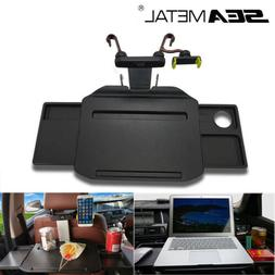 US Foldable Car Steering Wheel Tray Back Seat Table Laptop D