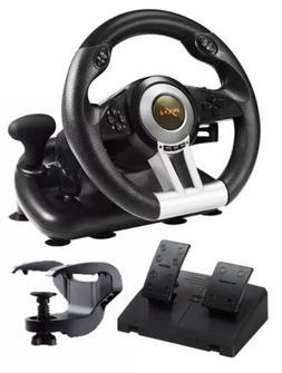 PXN V3ii Pro Racing Car Gaming Steering Wheel PS4 PC XBOX N