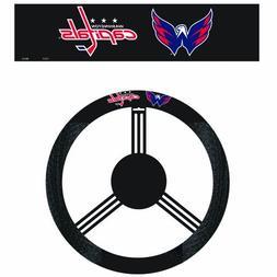 Washington Capitals Poly-Suede Steering Wheel Cover