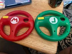 wii wii u mario kart steering wheels