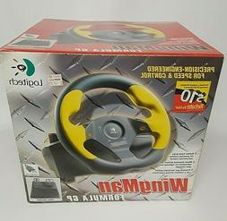 LOGITECH Wingman FORMULA GP Steering Wheel + Pedals, USB, fo