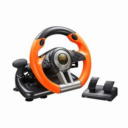 Xbox One Steering Wheel And Pedal Set Gaming Racing Driving