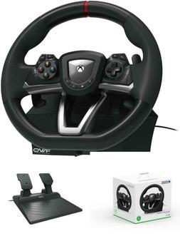 Steering Wheel And Pedal Set Racing Gaming Simulator Driving